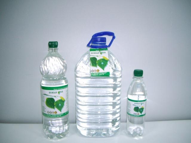 Лечебная столовая вода «Божья Роса»